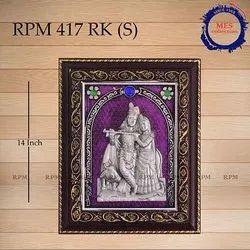 Silver Radha Krishna