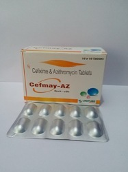 Cefixime 200mg Azithromycin 250mg Tablets