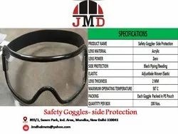 Acrylic Zero-power Eye Protection Safety Goggles