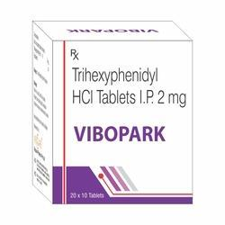 Trihexyphenidyl 2mg Tablet
