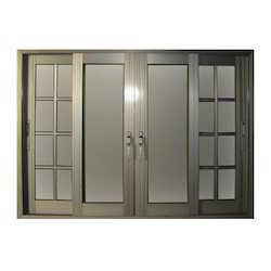 Designer Aluminium Section Door