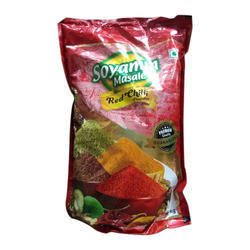 10 & 25 kg Soyamm Red Chilli Powder, Packaging: Packet & Poly Bag