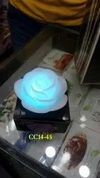 LED Rose Candle Color Changing