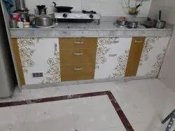 Modern PVC Modular Kitchen
