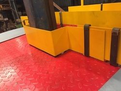 Working Platform With Toe Guard