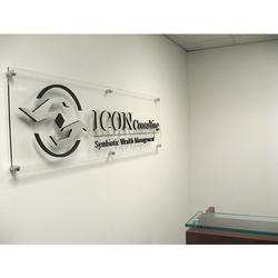 Acrylic Office Name Plate
