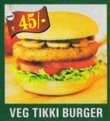 Veg Tikki Burger