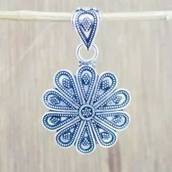 925 Sterling Silver New Fashion Jewelry Fine Plain Pendant