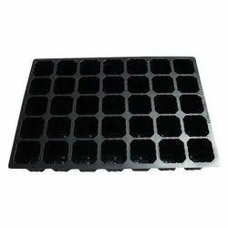 Black Plastic Packaging Trays
