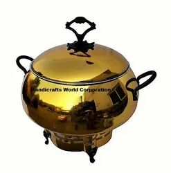 Colourful Chafing Dish, Size: 8 Liter