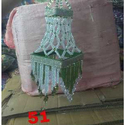 Hanging Crystal Lace Jhumar, For Used In Home Decoration