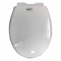 Big Bull White Plastic Fancy Toilet Seat Cover