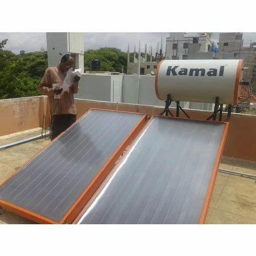 Kamal 200 LPD Solar Water Heating System, Rs 30500 /unit, Velnet Non ...