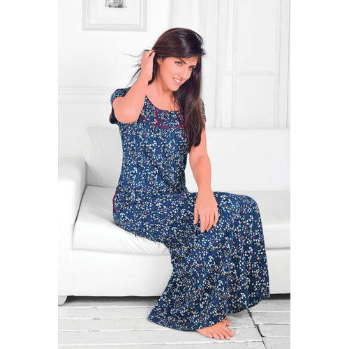404f6cded5f Juliet Printed Ladies Full Nighty
