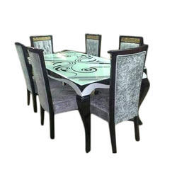 Rectangular Teak Wood Dining Table, Dimension: 6 x 3 feet