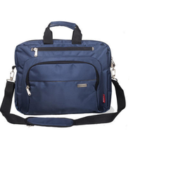 Polyester Blue Executive Laptop Bag