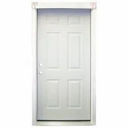White Wooden Bed Room Door