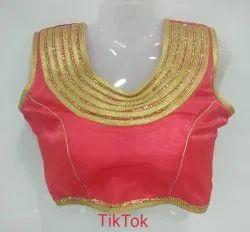 Satin SIlk Fashion Tik Tok Blouse