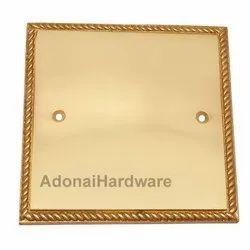 Georgian Switch Plate Without Cutout