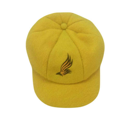 dd704591ce8ae Embroidered Logo Yellow Promotional Cap
