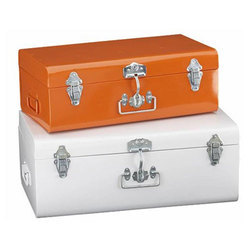 Galvanized Iron Storage Trunk