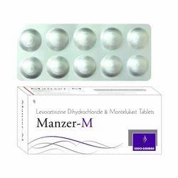 Levocetirizine Dihydrochloride And Montelukast Tablet