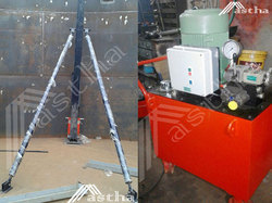 Hydraulic Lifting Jacks And Tank Jacking System