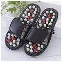 Acupressure Health Care India Foot Massager Jade Stone Acupoint Massage Slippers - Acupressure Paduk