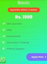 Legal Degree Certificate Apostille, India
