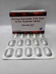 Ferrous Ascorbate And Folic Acid & Zinc Soft Gelatin Capsule