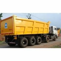 24 Cubic Tipper Trailer Transport Services