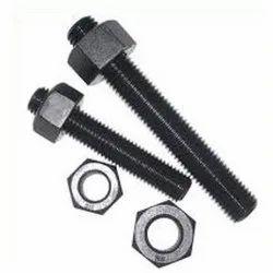Black Phosphate Carbon Steel Nut Bolt, for Industrial