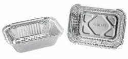 Paramount 210 Ml Disposable Aluminium Foil  Food Container
