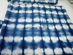 Indigo Tie Dye Print Fabric