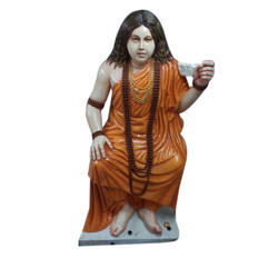 Multicolor Marble Rishi Statue