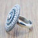 925 Sterling Silver Fashion Plain Jewelry Ring Wr-5596