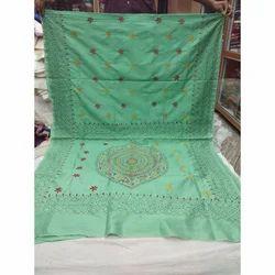 Casual Kantha Saree, 5.5 M (separate Blouse Piece)