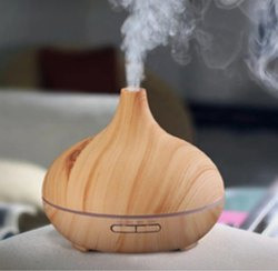 Brown Wooden Aroma Humidifier, For Office,Home etc