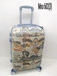 Satisfaction Pvc Pride Printed Trolley Suitcase Bag-602 3