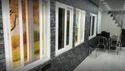 White Pvc Window, Glass Thickness: 5-10 Mm