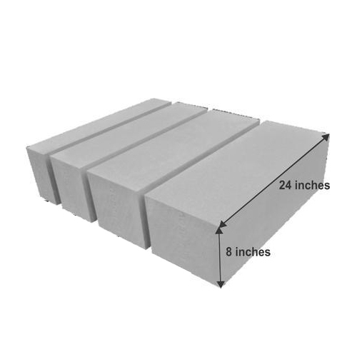 Rectangle Renacon Aac Block Size 27 X 8 X 24 Inch Rs 40