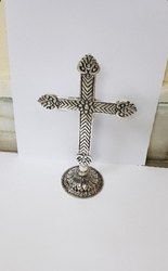 Silver plated Cross Christmas Gift
