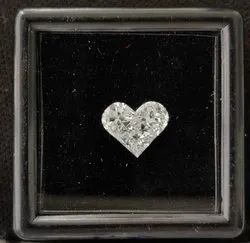 Heart Shape Pie Cut CVD / HPHT Lab Grown Diamond