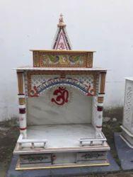 White Makrana Marble Temple