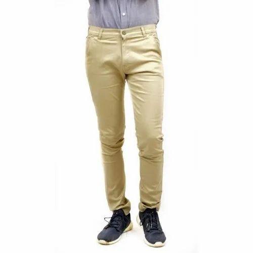 1976cfafb2 Biege Office Wear Mens Beige Cotton Pant, Rs 600 /piece, Satyam ...