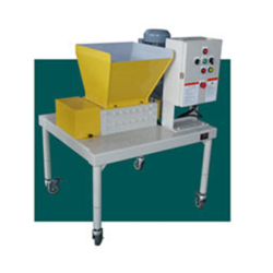 Biaxial Cutter Chip Crusher