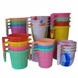 Polypropylene Multicolor Plastic Mug