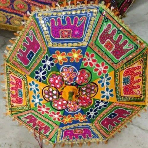 Embroidered Umbrella