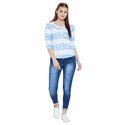 Blue Ladies Stretchable Jeans