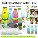 Plastic Red Fruit Flavour (juicer) Bottle H-046, For Drinking Water